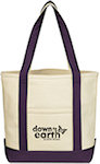 Small Heavy Cotton Canvas Boat Totes